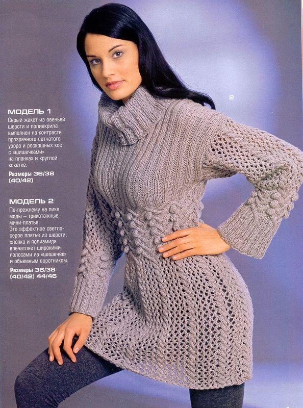 modele de tricotat pulovere manual