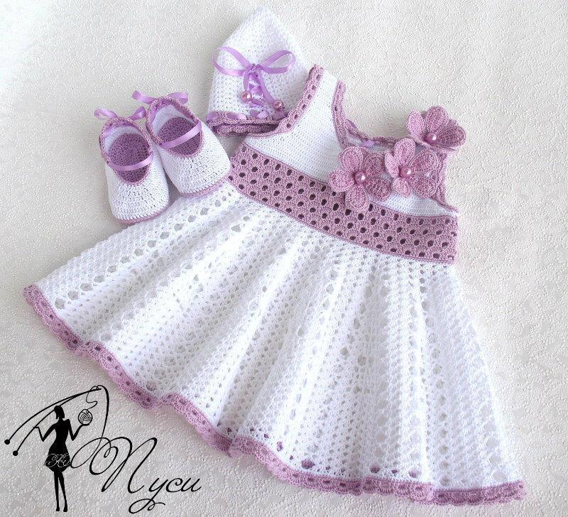 платье с бабочкой на девочку