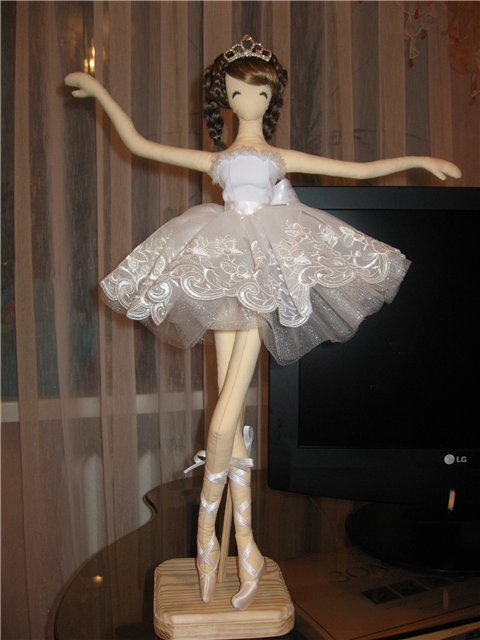 Как сшить балерину своими руками