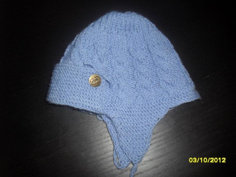 caciulite tricotate pentru copii-iarna- 2 - Tricotaje pentru bebelusi ...