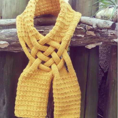Saluri, fulare, esarfe tricotate 1 - Tricotaje pentru EA partea a 62-a